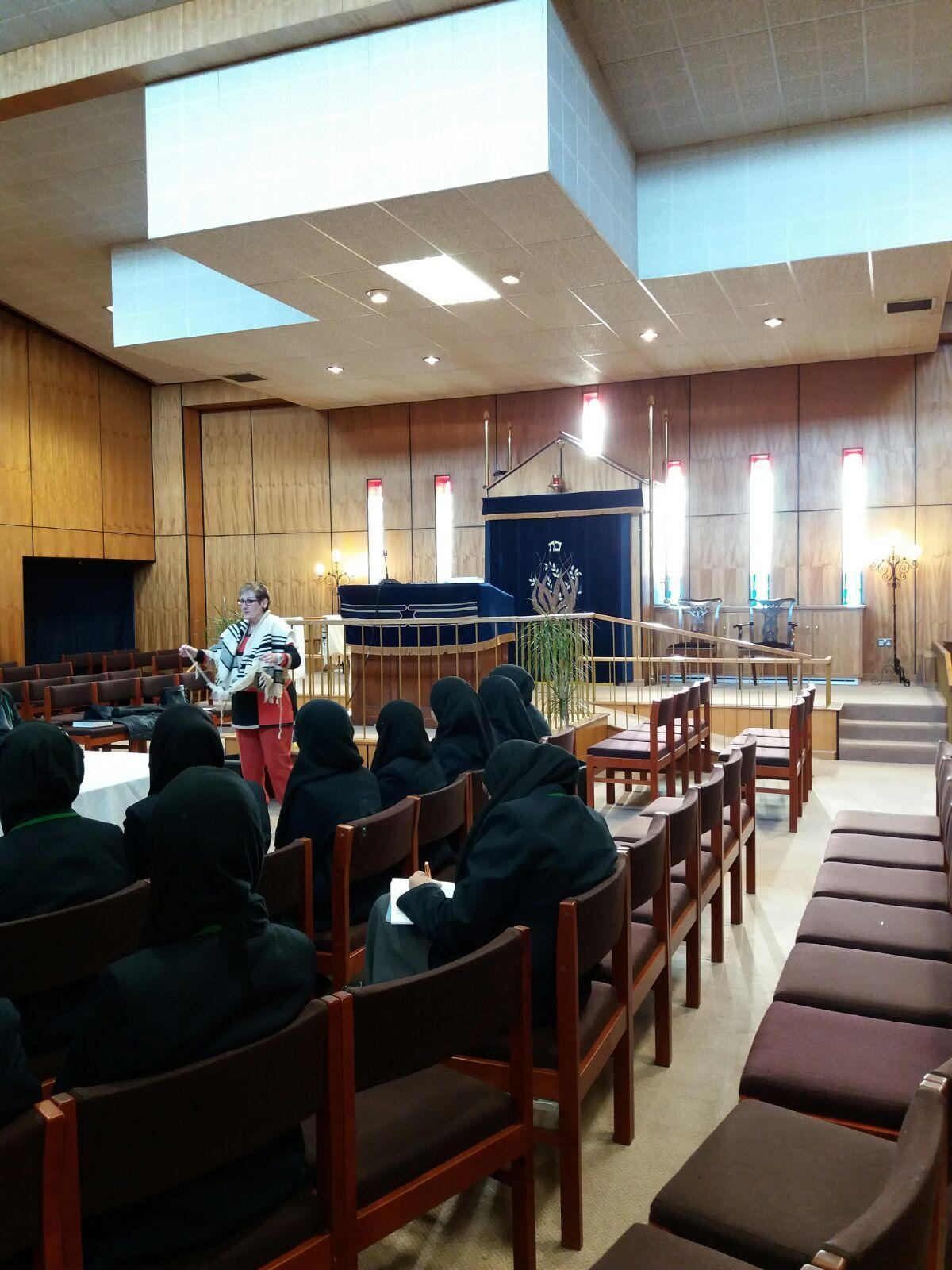 Year 8 visit the Mount Sinai Synagogue in Leeds-14th